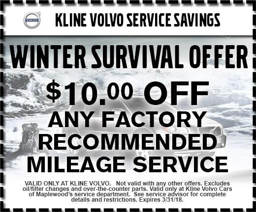 Auto Repair Specials at Kline Volvo Cars of Maplewood ...