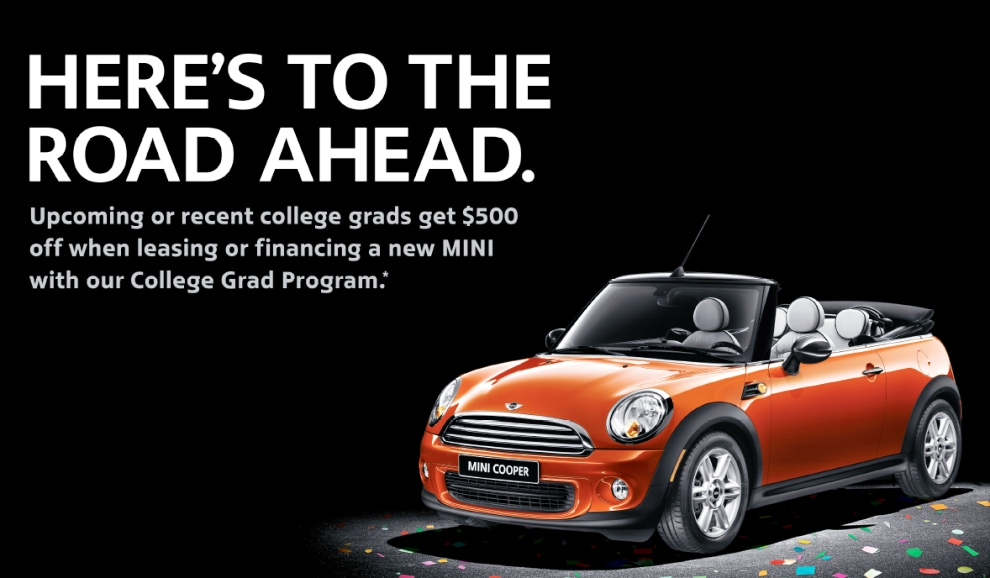 College Grad program at Knauz MINI
