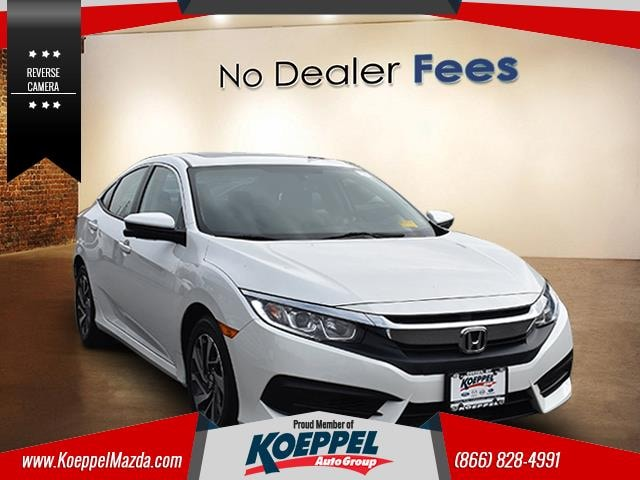 2018 Honda Civic EX After you get a look at this beautiful 2018 Honda Civic youll wonder what to