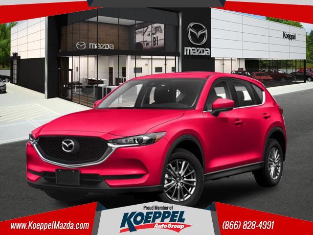 2019 Mazda Mazda CX-5 Sport  Soul Red Crystal Metallic Paint 2 miles VIN JM3KFBBM8K0542735 St