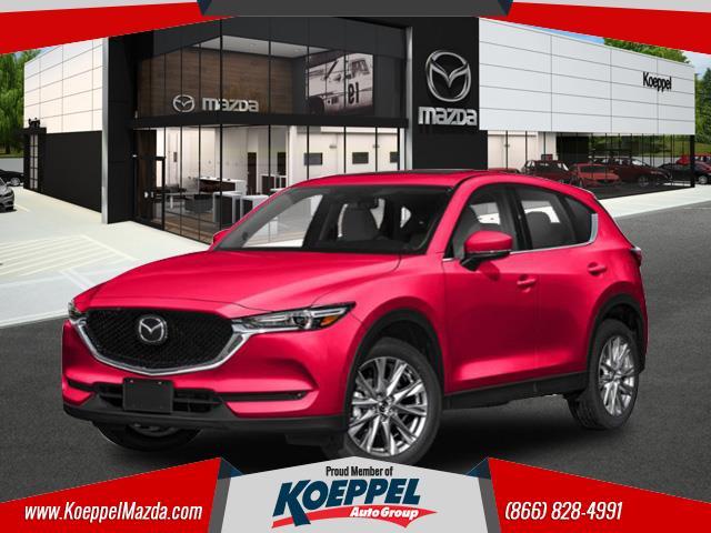 2019 Mazda Mazda CX-5 Grand Touring  Rear Bumper Guard Soul Red Crystal Metallic Paint 3 miles