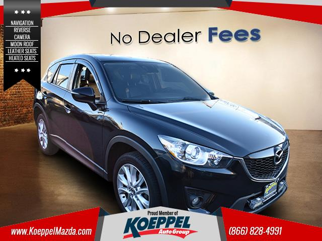 2015 Mazda Mazda CX-5 Grand Touring Designed with a spacious interior this 2015 Mazda CX-5 is fil