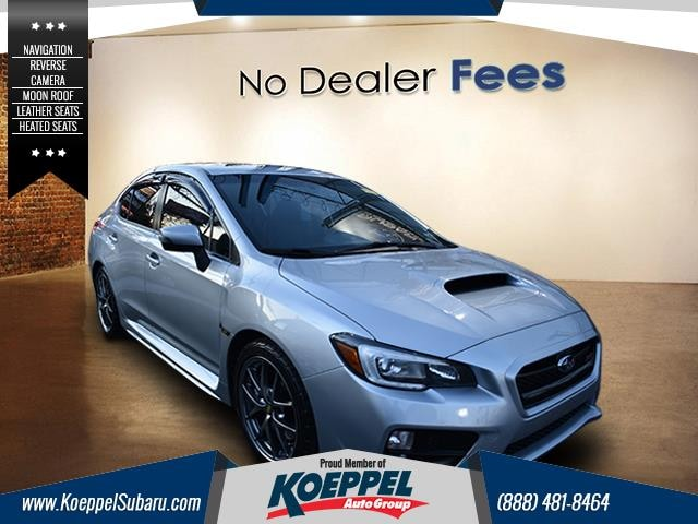 2015 Subaru WRX STI Limited 4dr M6 This 2015 Subaru WRX has been treated with kid gloves and it