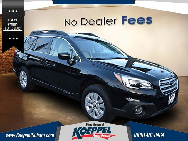 2016 Subaru Outback 25i Premium Why choose between style and efficiency when you can have it all