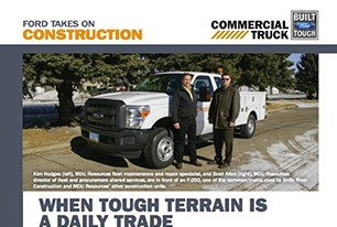 Ford Construction Vehicle Brochure