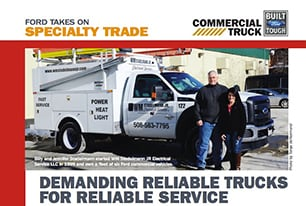 Ford Commercial Truck Specialty Trade Brochure