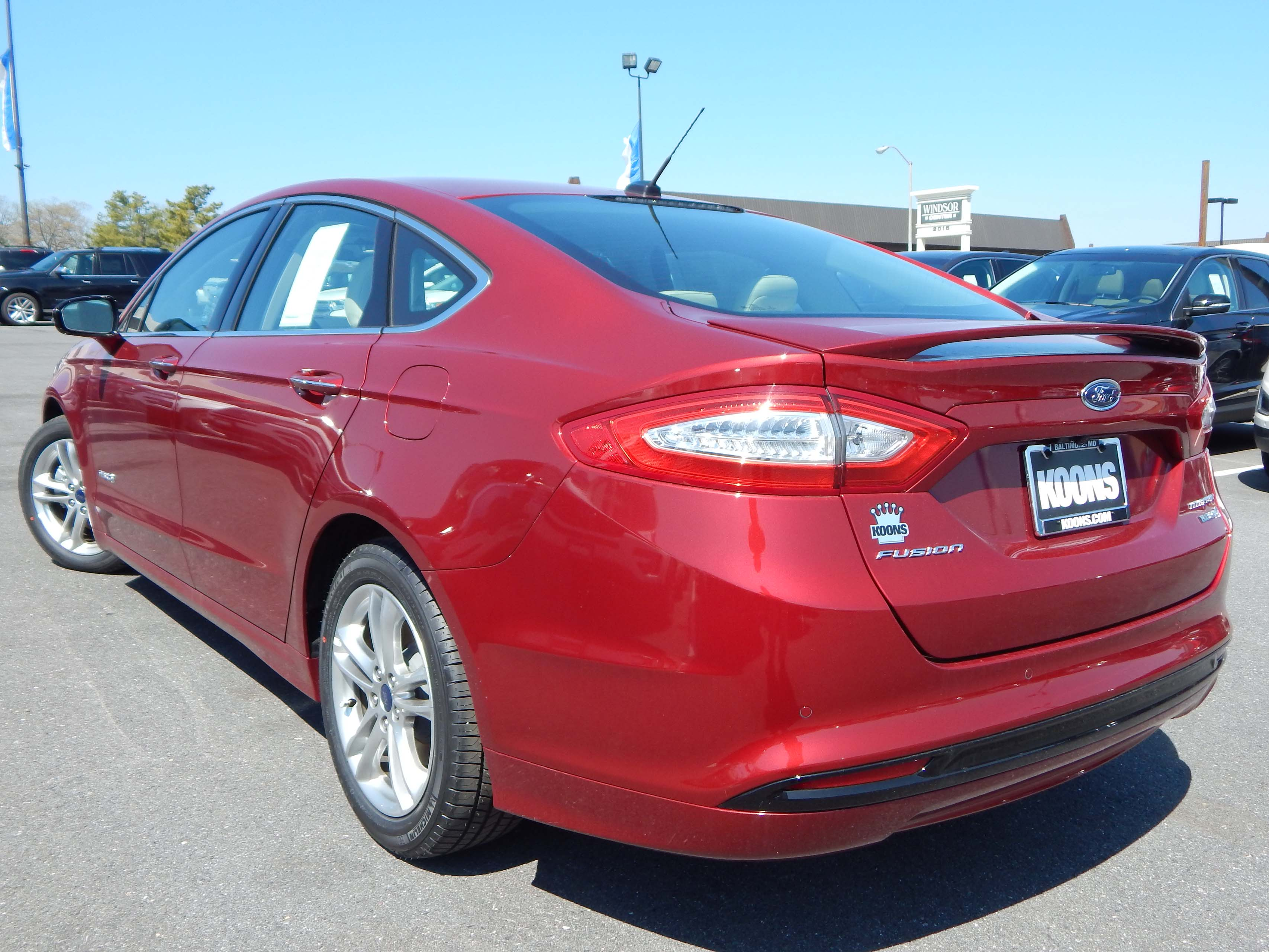 new 2016 ford fusion hybrid for sale near washington dc. Black Bedroom Furniture Sets. Home Design Ideas