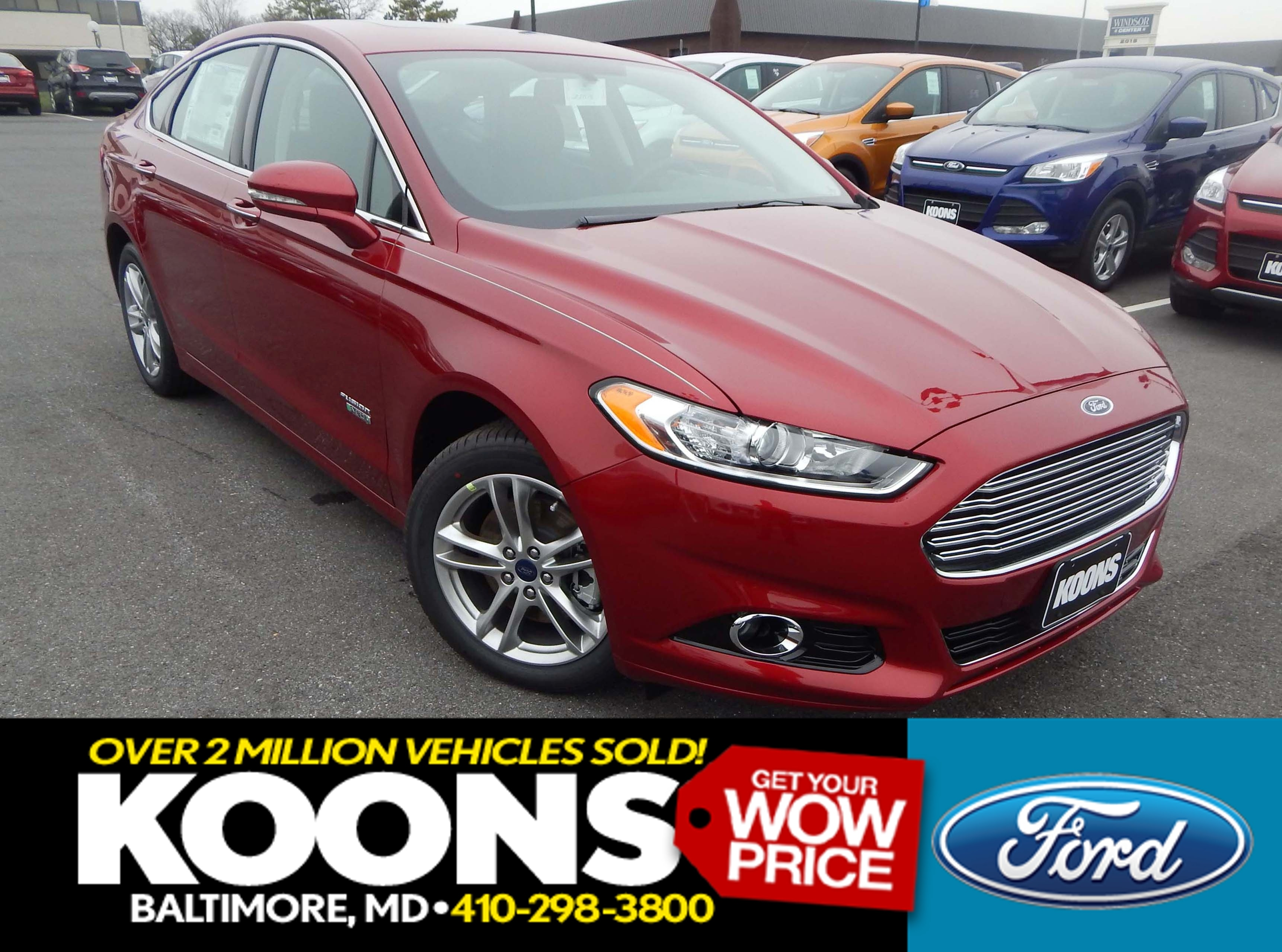 New 2016 Ford Fusion, $27999