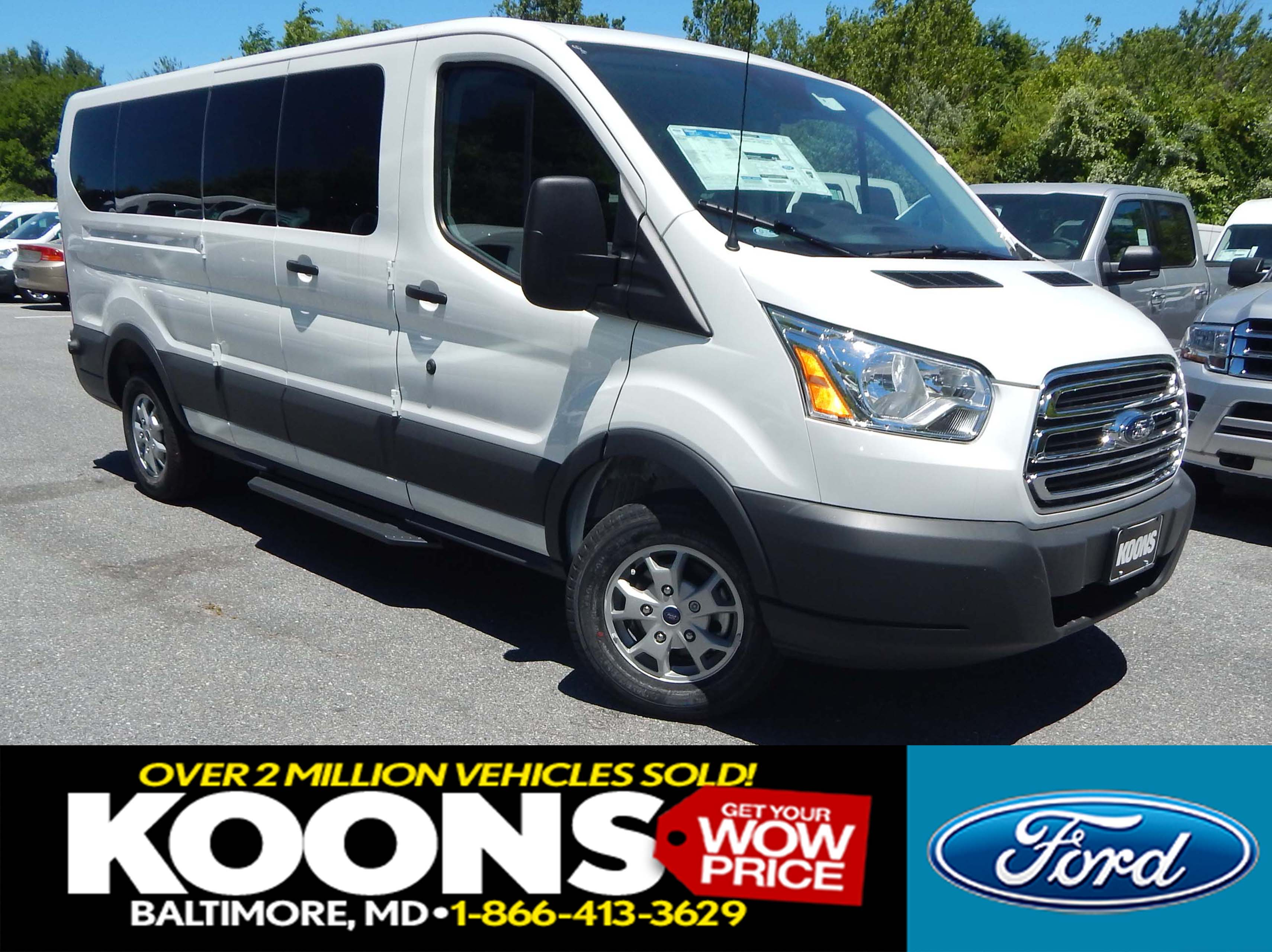 2016 Ford Transit-350 XLT Low Roof Passenger