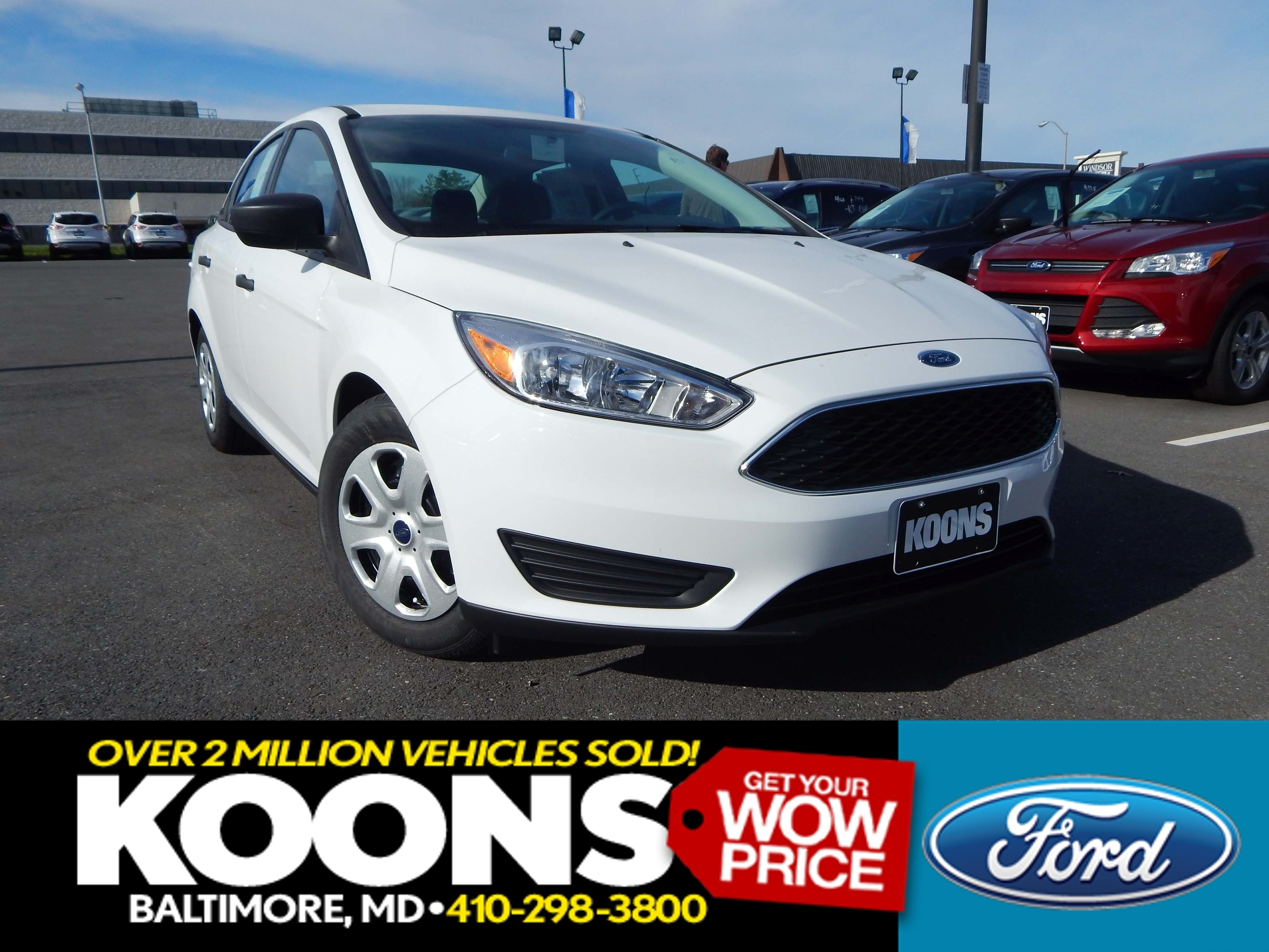 New 2016 Ford Focus, $12795