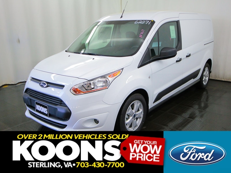 2016 Ford Transit Connect Cargo Van LWB XLT Swing-Out Rear Cargo Doors