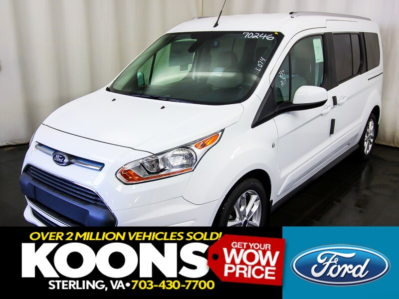 2017 Ford Transit Connect Wagon Titanium LWB w/ Rear Liftgate