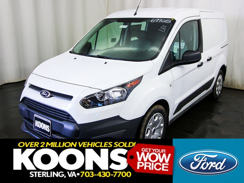 2016 Ford Transit Connect Cargo Van SWB XL Swing-Out Rear Cargo Doors