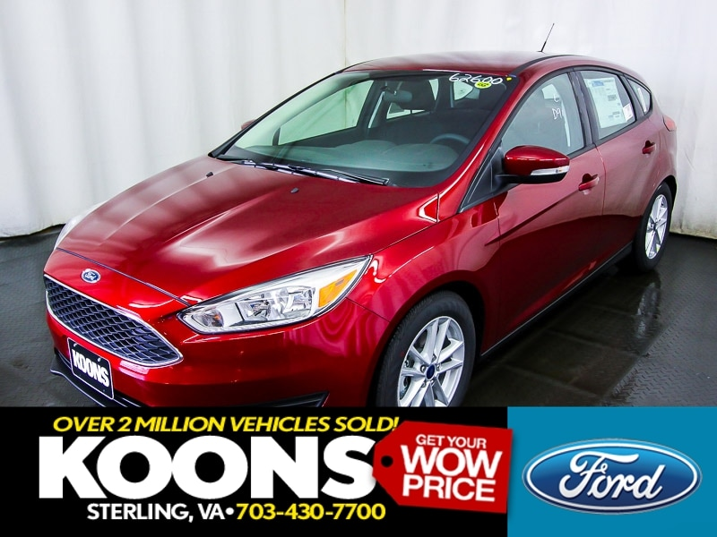 2016 Ford Focus SE 5dr Hatchback