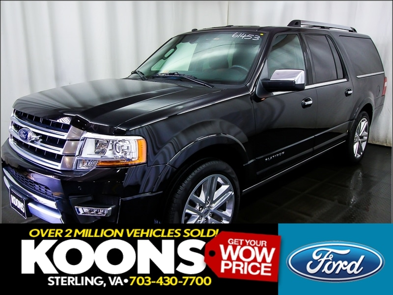 New 2016 Ford Expedition, $55876