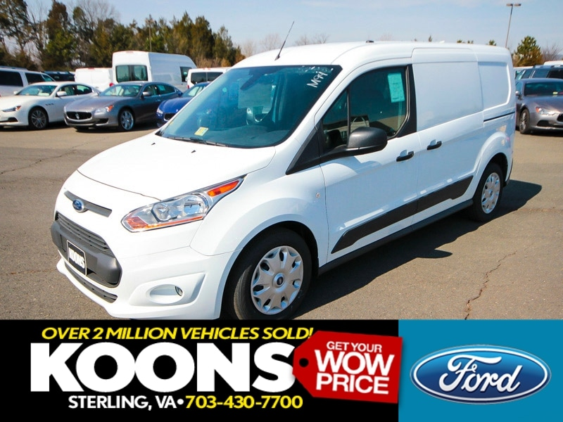 2016 Ford Transit Connect Cargo Van LWB XLT Rear Liftgate w/ Fixed Glass