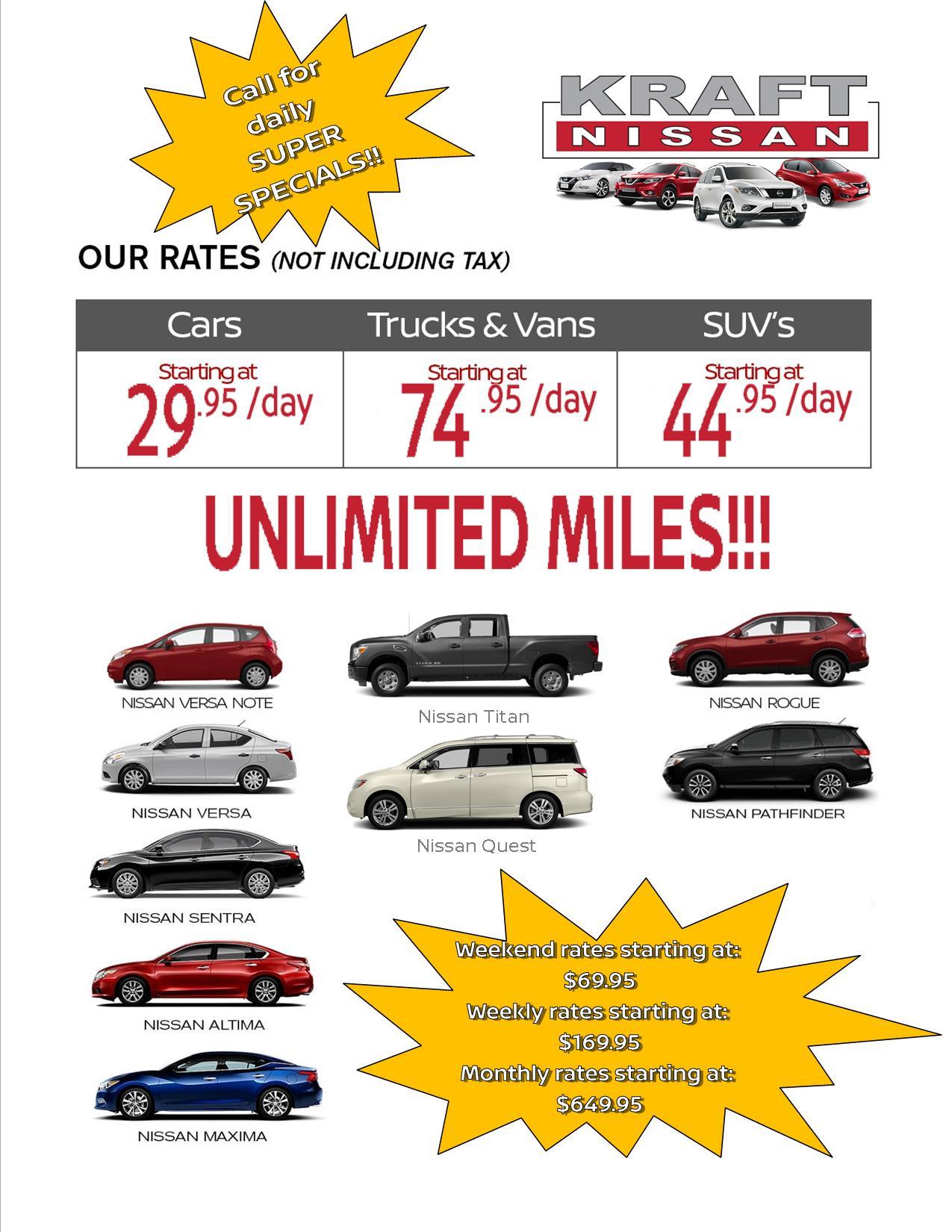 Kraft Nissan Of Tallahassee New Nissan Dealership In
