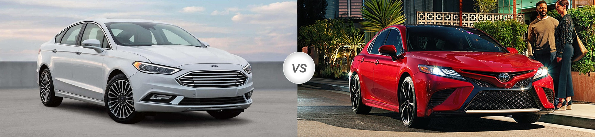 2018 Ford Fusion vs 2018 Toyota Camry