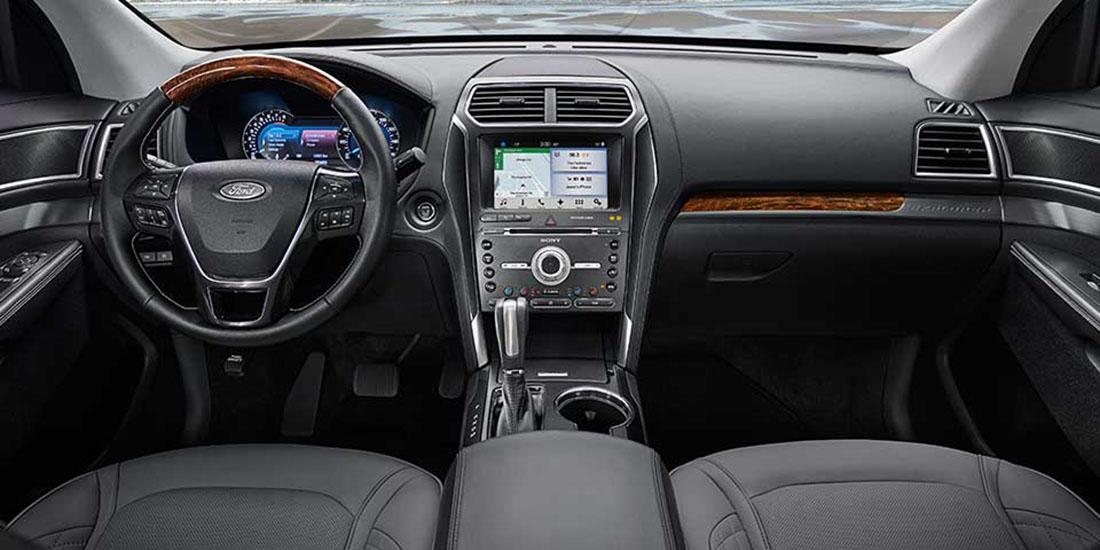 2017 Ford Explorer Sport Interior