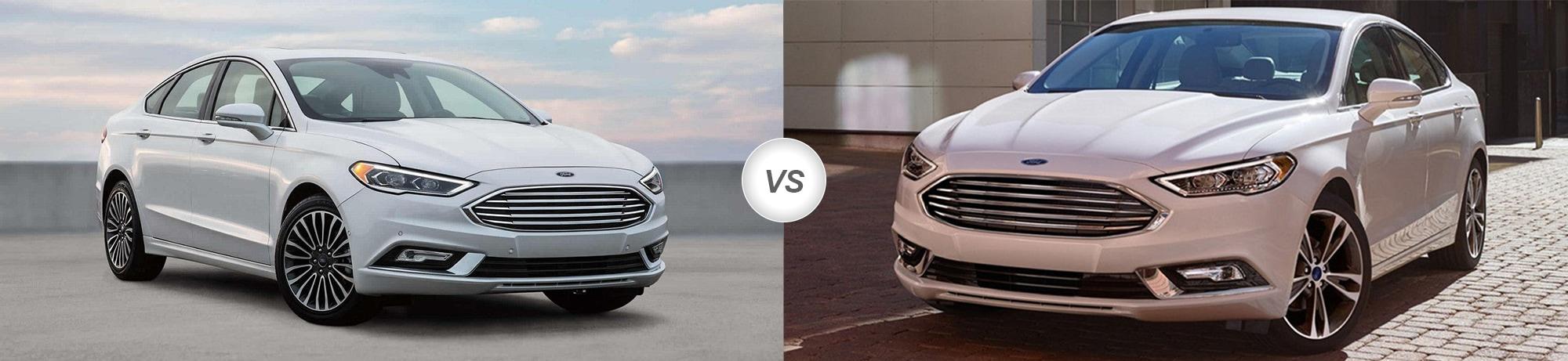 2018 Ford Fusion vs 2017 Ford Fusion
