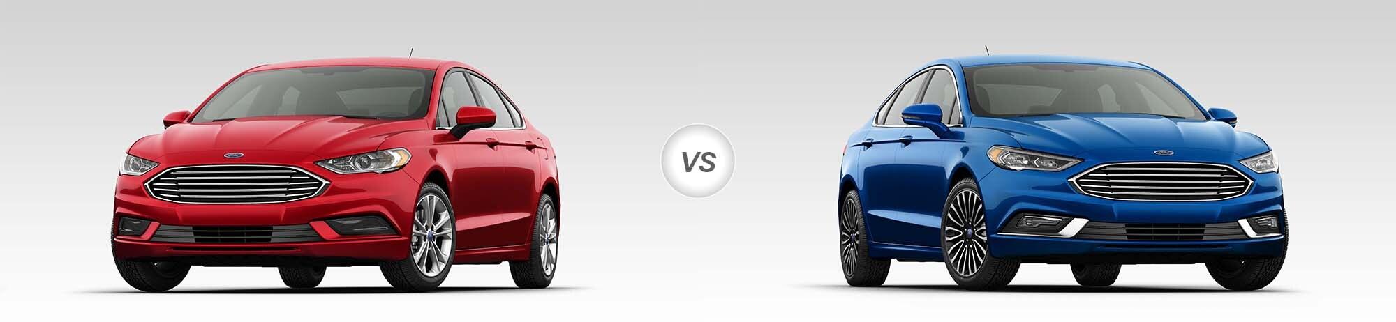 2018 Ford Fusion SE vs 2018 Ford Fusion Titanium