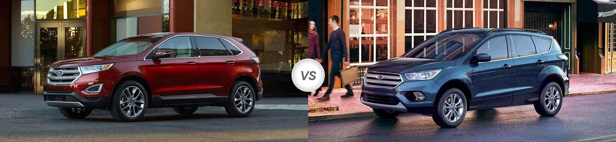 2018 Ford Edge vs 2018 Ford Escape