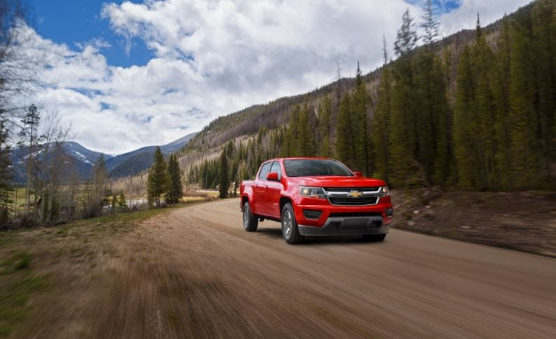 New Chevy Colorado Princeville HI