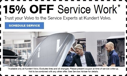 Kundert volvo service coupons
