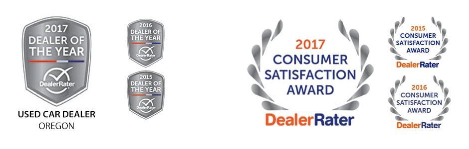 DealerRater Used Car Dealer of the Year