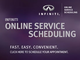 Click here to schedule a Service Appoinment at your Seattle Infiniti Dealership, Kuni Westsid Infiniti.