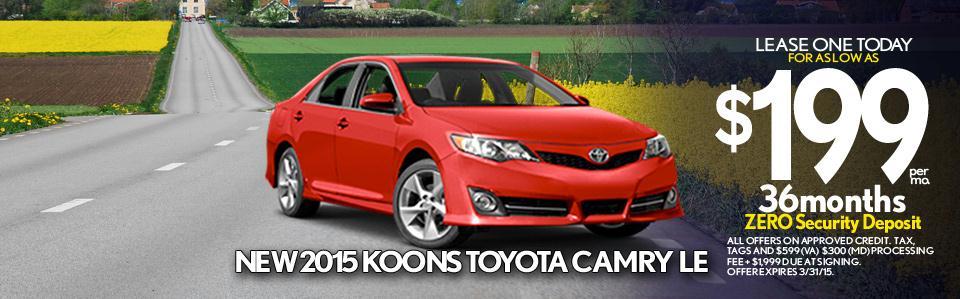 Koons Westminster Toyota New Amp Used Car Dealer Serving