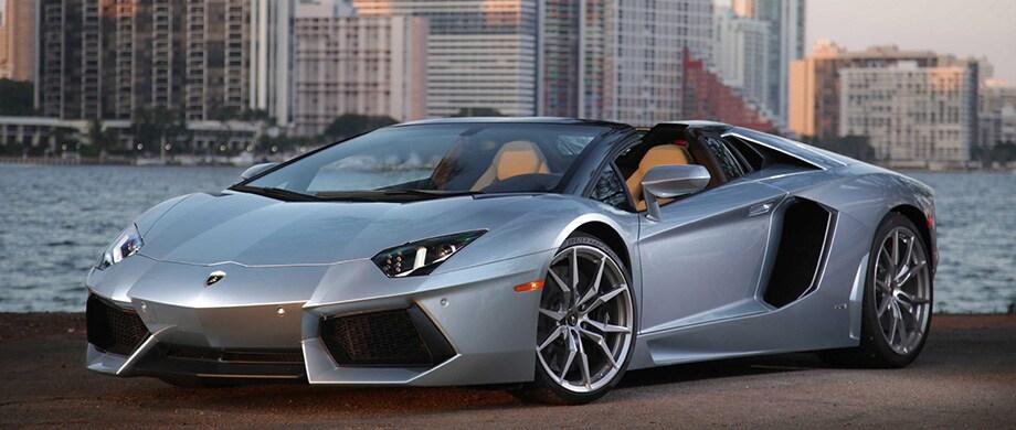 Lamborghini Aventador roadster dealer