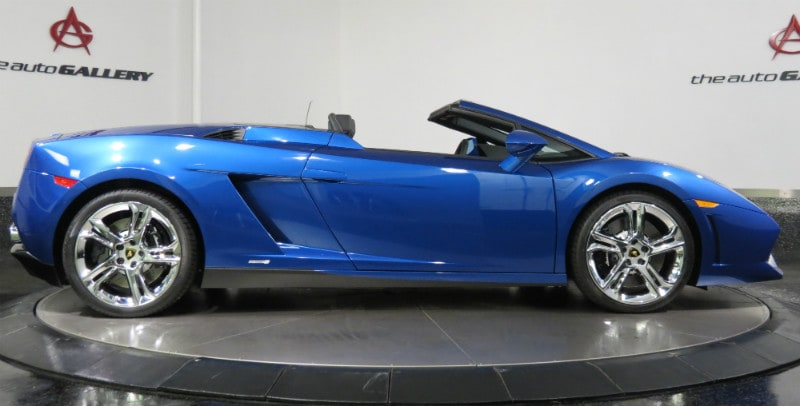 2012 Lamborghini Gallardo spyder finance offer