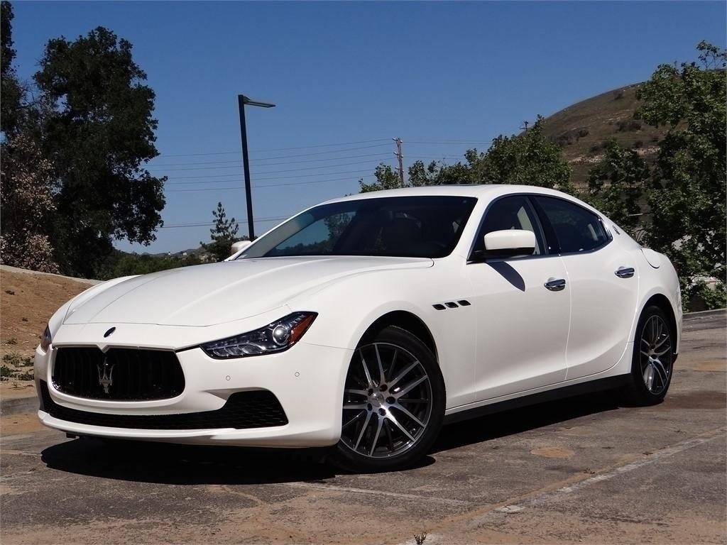 2015 Maserati Ghibli Base Sedan NMF134536