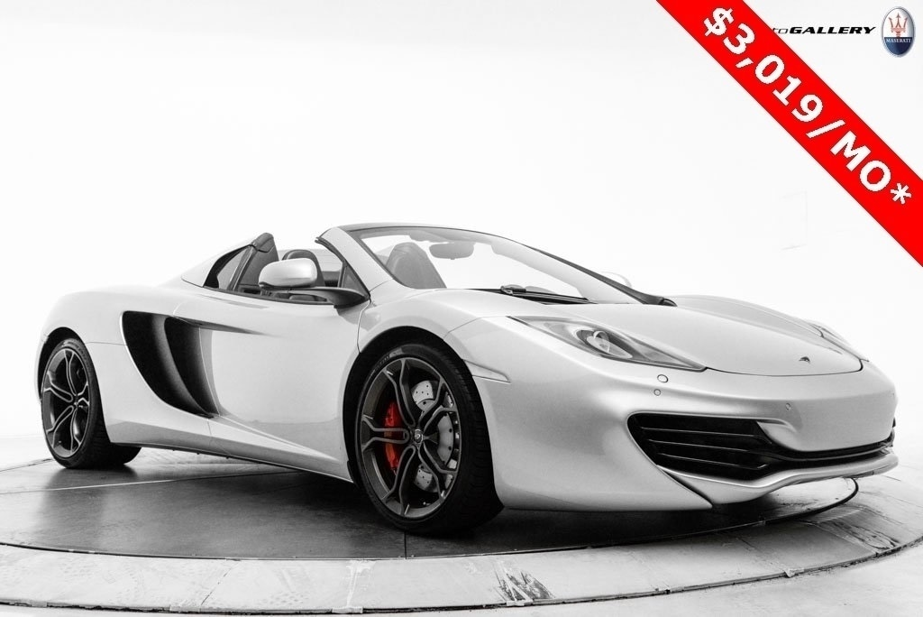 2014 McLaren MP4-12C Spider UME003018
