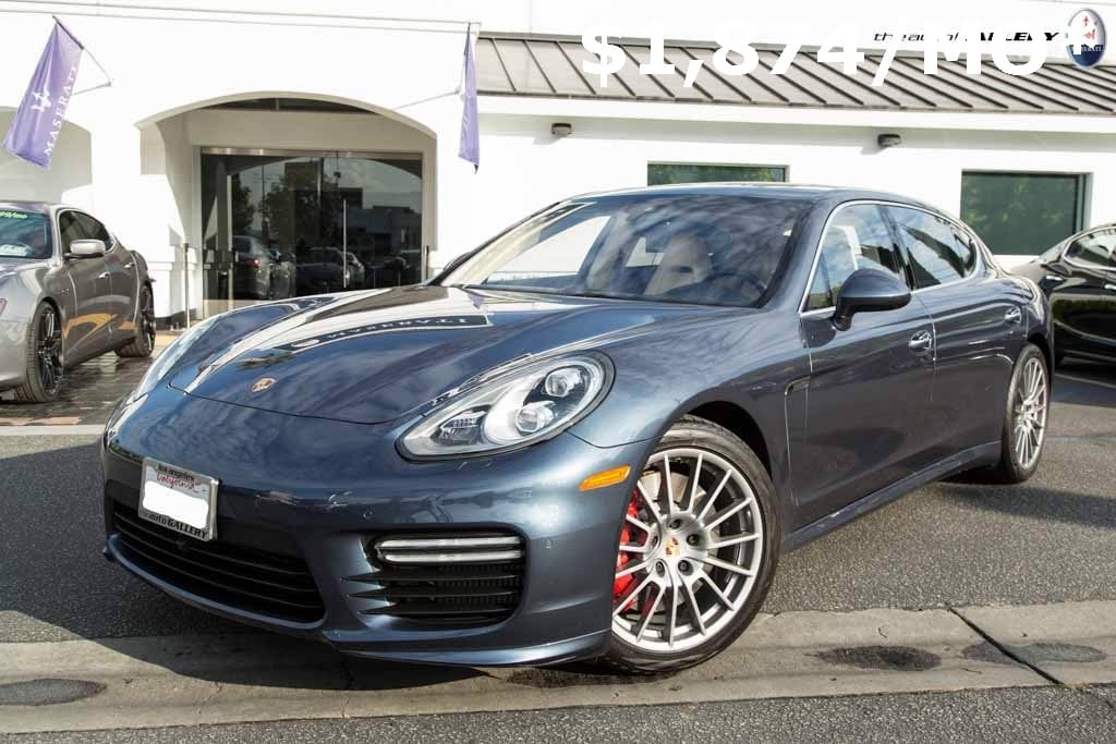 2014 Porsche Panamera Turbo Executive Hatchback UME077302
