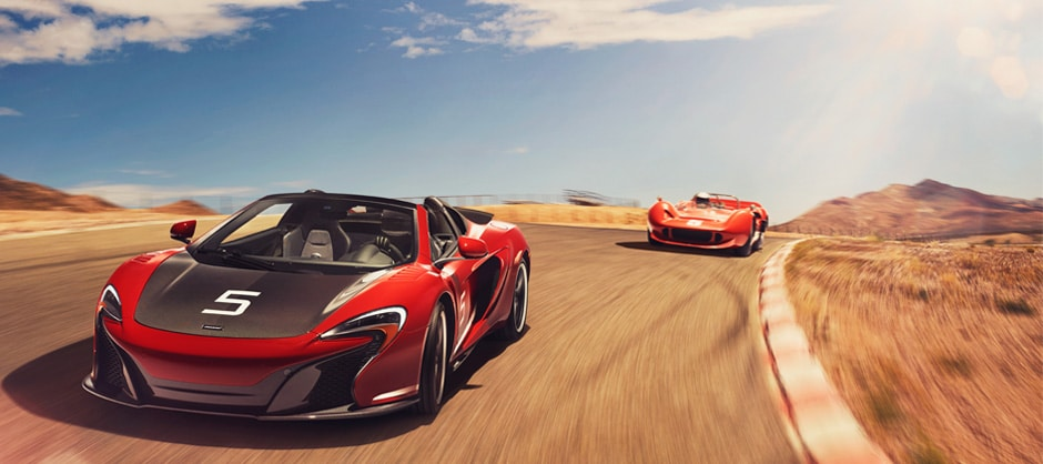 mclaren 650s can-am super series