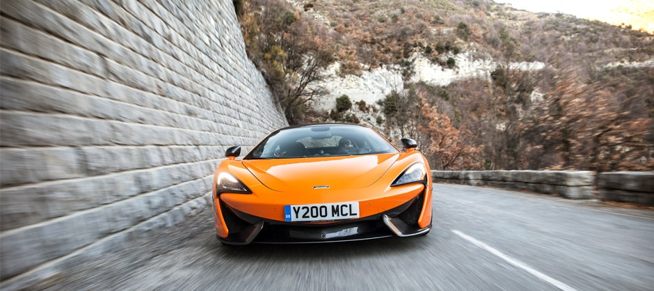 new mclaren 570s sports series model available in Beverely Hills dealership
