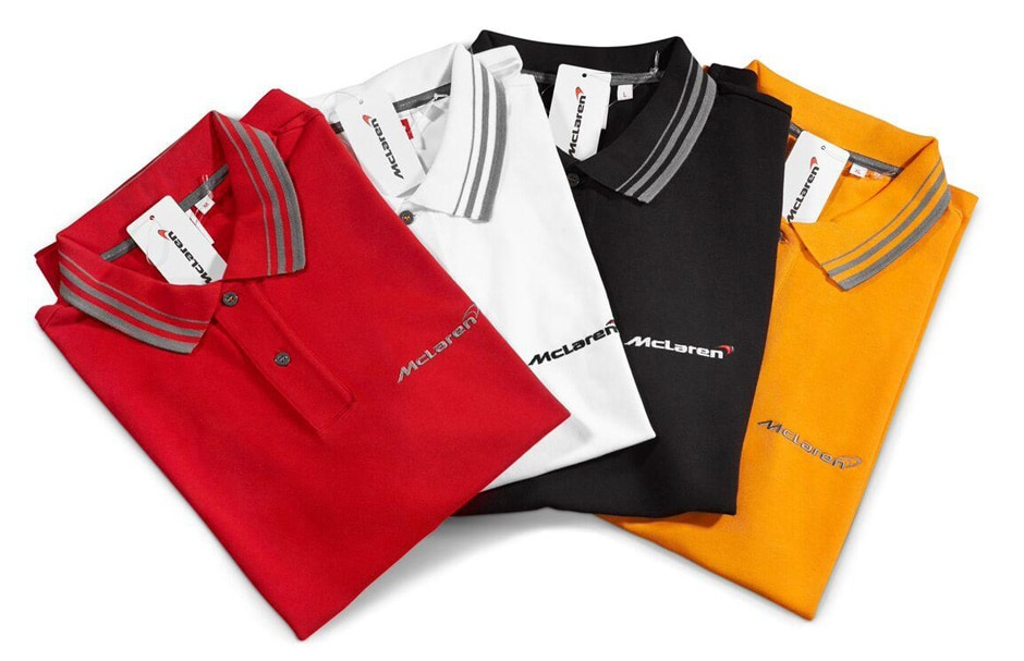 mclaren SPORT SERIES POLO SHIRTS