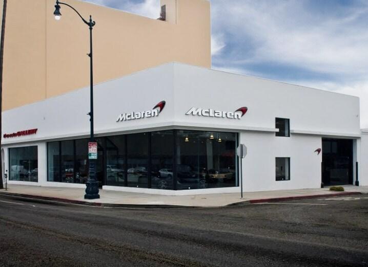 McLaren Beverly Hills dealership
