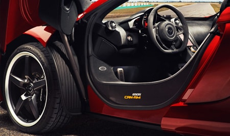 super series 650s can-am interior shot