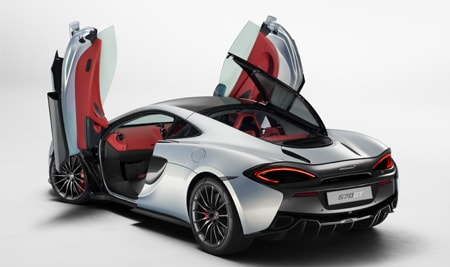 new mclaren 570gt sports series model exterior shot