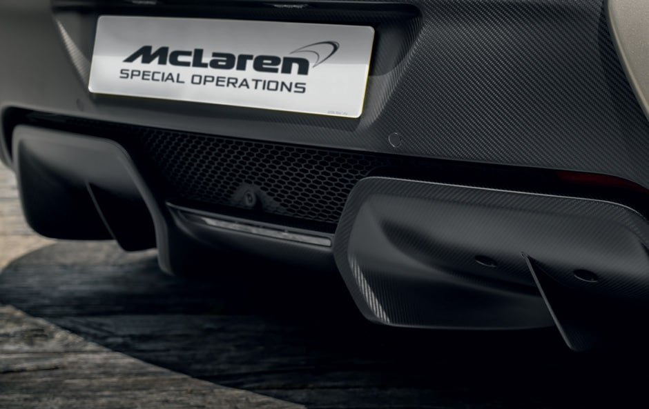 Carbon Fibre Rear Diffuser for mclaren 650s and 570s models