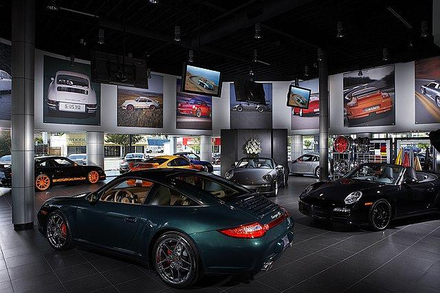 The Auto Gallery Porsche Showroom