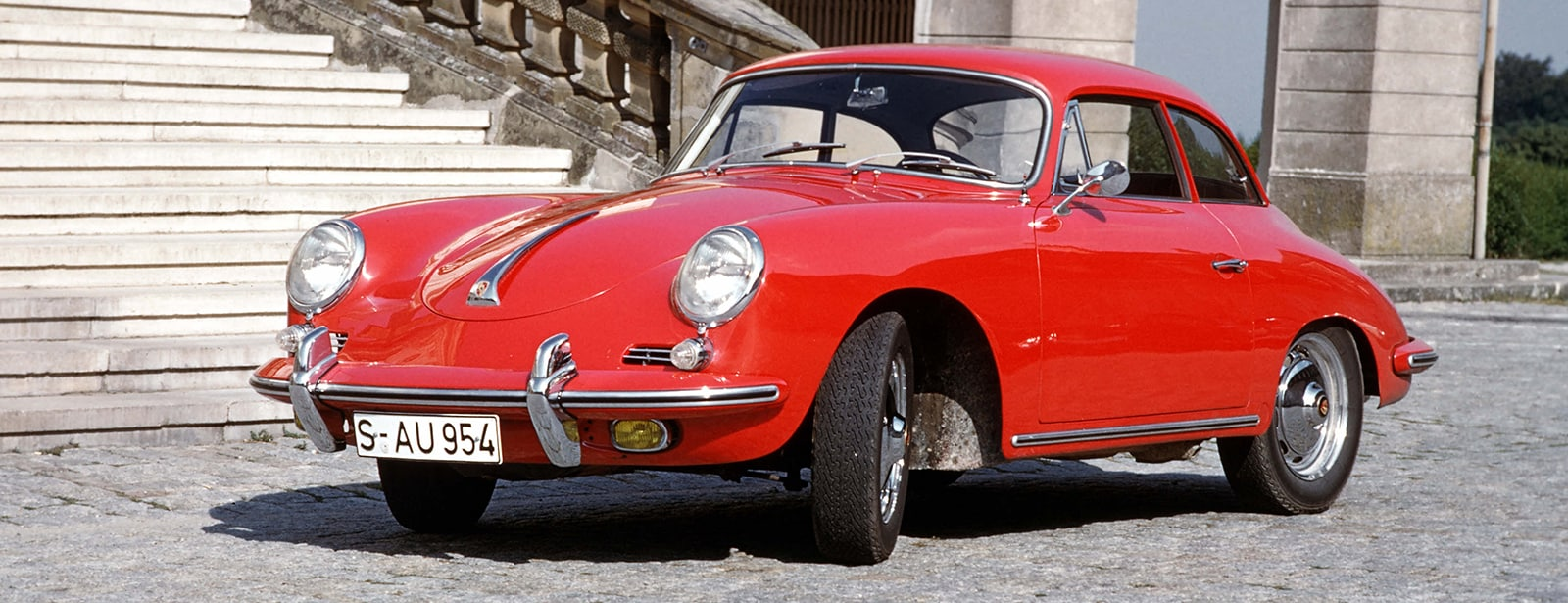 Red Porsche 356B