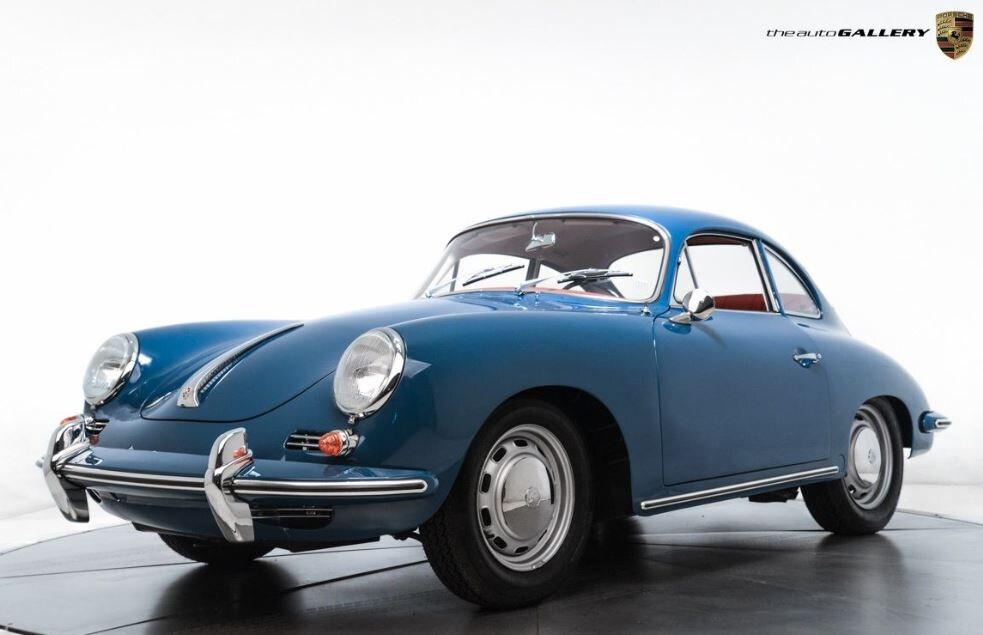 Front View of a 1963 Porsche 356B