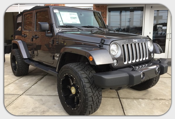 Goodyear Racing Tires >> Build Your Own Custom Jeep In Cornelius, NC | Lake Norman Jeep