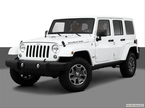 Jeep Wrangler 4 Door 2015