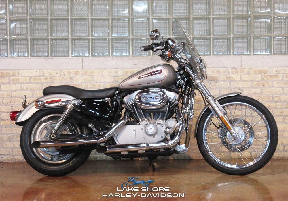Used 2009 Harley Davidson Sportster 883 Custom Xl883c For