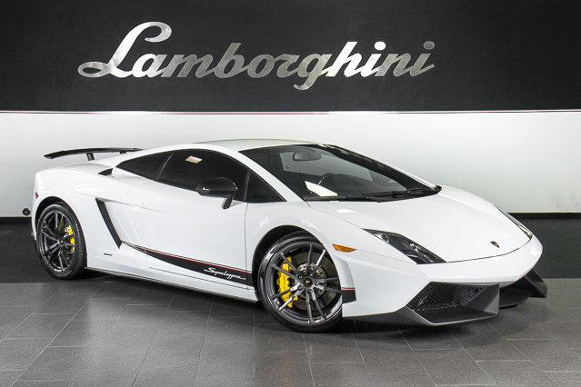pre owned 2012 lamborghini gallardo lp 570 4 superleggera coupe dallas tx